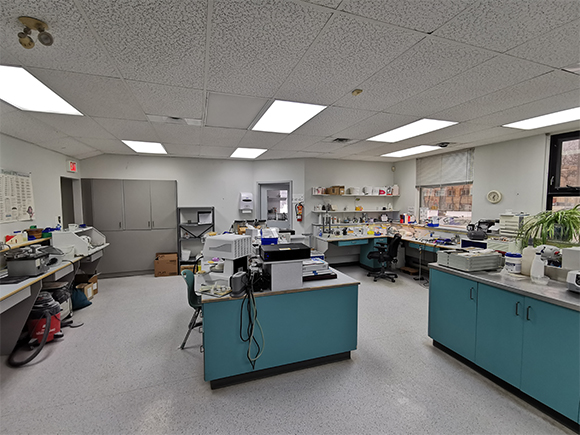 Our lab space - Winnipeg, MB